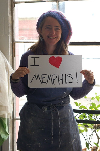 Kristi Duckworth loves Memphis