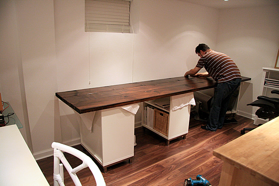 Build Your Own Studio Desk Plans   scyci.com