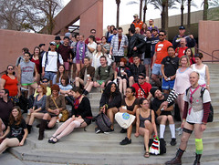 No Pants Group Photo