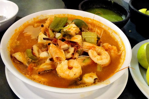 mixed seafood soup