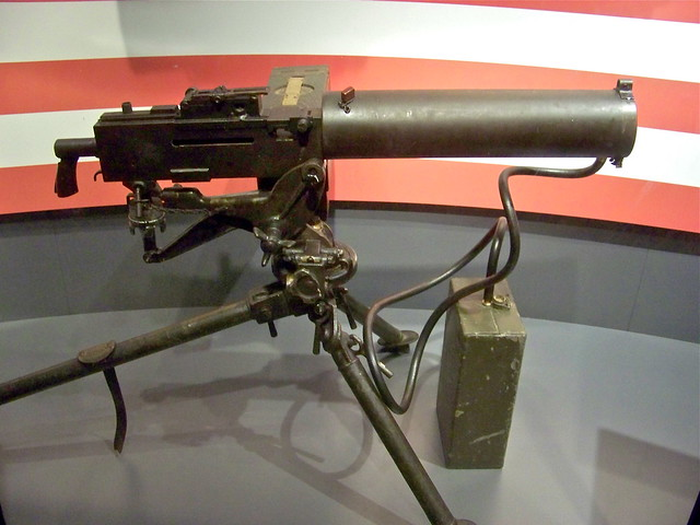 Picture and specifications of M1917A1 .30 Caliber Water-cooled Machine Gun