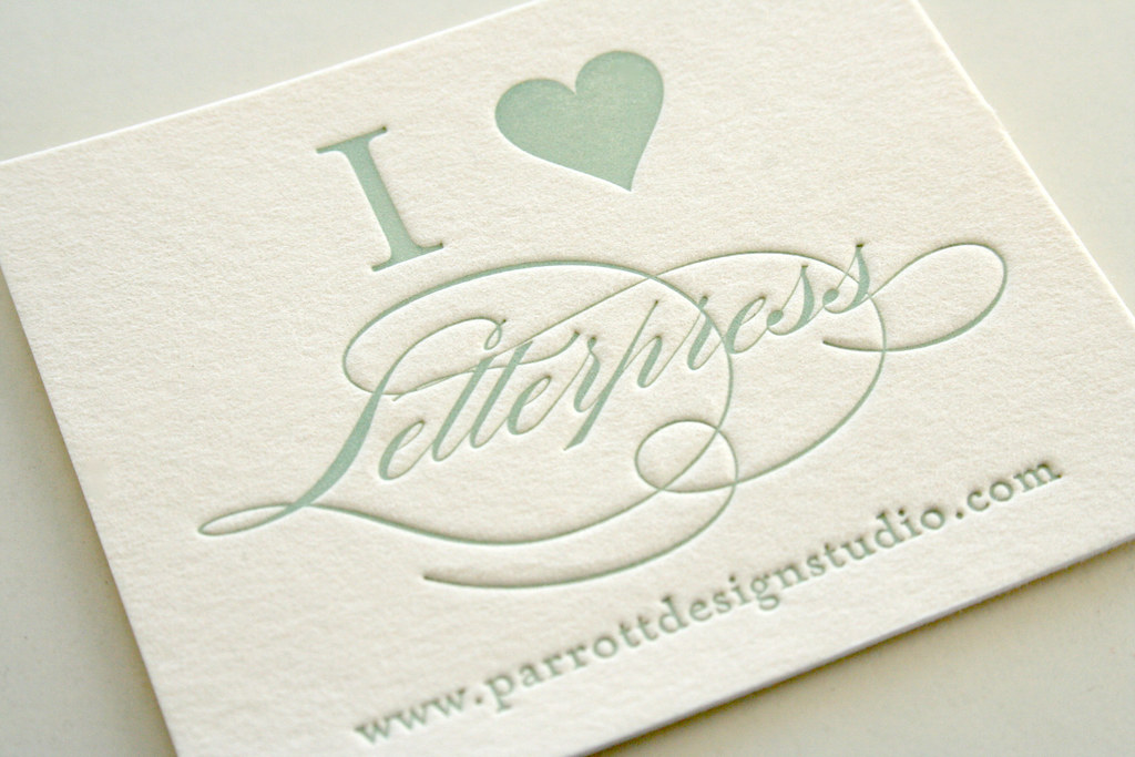 Oh hello friend you are loved letterpress week business card letterpress week business card inspiration reheart Images