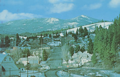 Birdseye View, circa 1970 - Troy, Idaho (Shook Photos) Tags: troy aerial idaho birdseyeview palouse latah vollmer troyidaho latahcounty huffsgulch