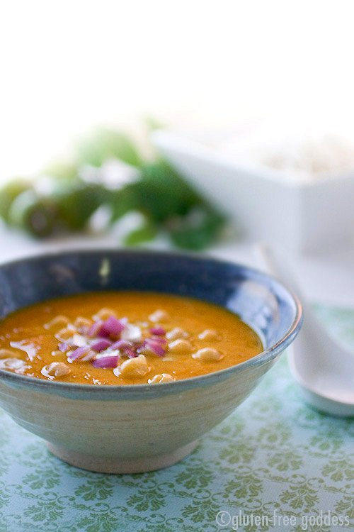 Mulligatawny Recipe and Jasmine Rice