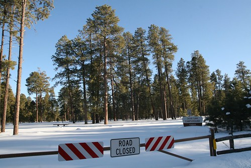 Jacob Lake Campground: Road Closed