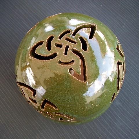 Noticings - Ceramic Oil Lamp