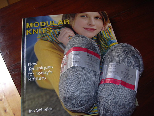 modular knitting y sock yarn
