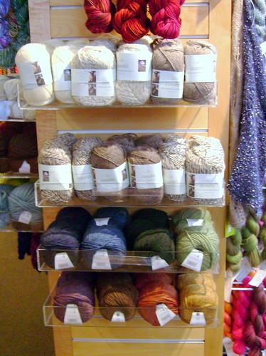 New Rowan yarns