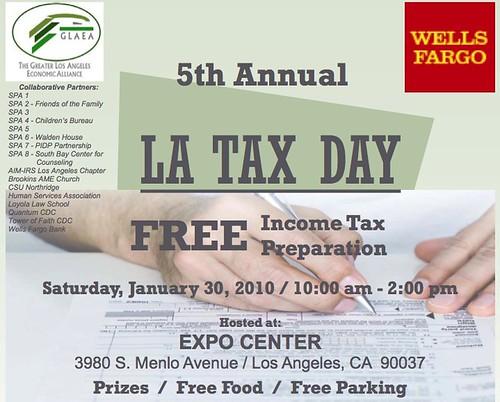 LA Tax Day