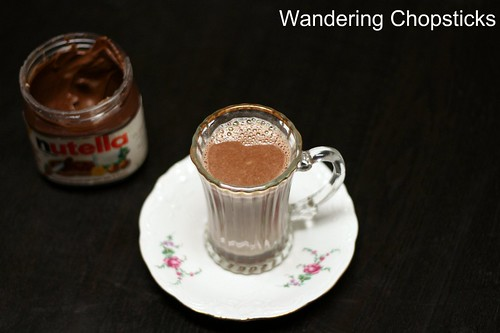 Mexican Nutella Hot Chocolate with Chilies 2