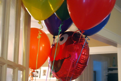Balloons Nick Chose for His Sister