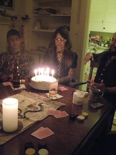 rafael, valentine, brian, cake