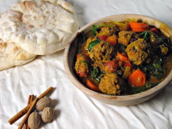 Moroccan Meatballs Header