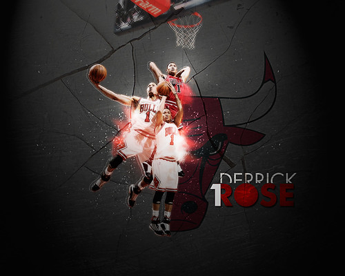 derrick rose wallpaper. Derrick Rose