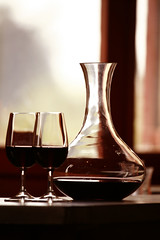 Decanter (ZagatBuzz) Tags: jug zagat wineglass redwine survey decanter zagatwine