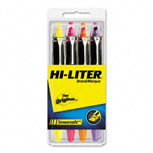Hi-liter SmearSafe Fluorescent Highlighter