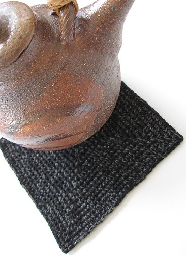 Black Coffee pad & pot