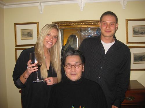 Jocelyn Wigley, Hajime Fukuhara, James Fukuhara
