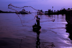 (Flash Parker) Tags: travel river fishing delta vietnam waters murky mekong flashparkerphotography vietnam260773