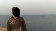 me     (brhomnew) Tags: people water pic saudi 2009 aramco  dammam
