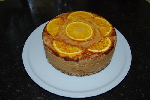 amandeltaart met sinaasappel, torta de naranjas