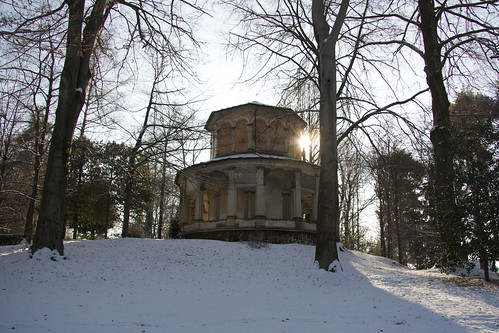 Circular Chapel in the woods #2 (by storvandre)