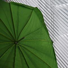 green umbrella (Cybergabi) Tags: green umbrella square rotterdam blinds nai nederlandsarchitectuurinstituut