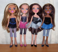 Bratz Birthday Bash (Bratz UK) Tags: birthday bash phoebe sasha yasmin bratz cloe