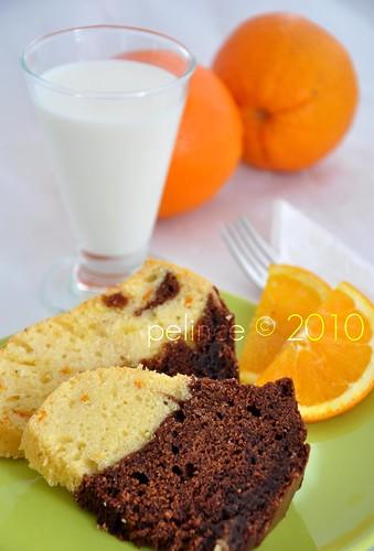 Çikolatalı & Portakallı Kek