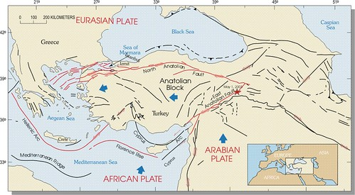 Türkei Tektonik