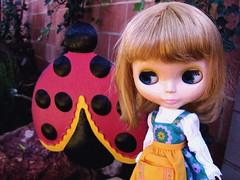 Ginny meets ladybug.