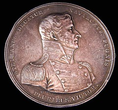 1812 Decatur medal in silver