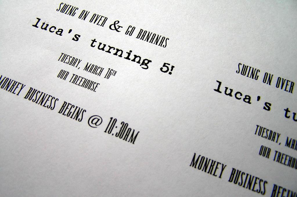 baking invitations