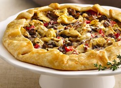 Bistro-Style Onion and Artichoke Galette (Pillsbury.com) Tags: food cheese georgia pie recipe baking mediterranean dijon herbs side treats contest maui bistro gourmet pizza pies garlic mustard snacks onion appetizer appetizers balsamicvinegar bake herb starters thyme artichoke seasoning pillsbury wallawalla vegetableoil crisco apps galette entertaining entertain antipasti gruyere finalist bakeoff antipasto horsdoeuvres redbellpepper romega fireroasted sweetonion artichokehearts piecrusts egglandsbest vegatableoil bistrostyle entertainingappetizers marylouiselever bistrostyleonionandartichokegalette