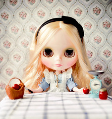 Want Apple? (Lonely Sarah) Tags: tea blythe tt limited tarts cwc rbl