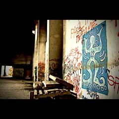 roller boy @ludoteka (garagolo) Tags: urban art abandoned canon graffiti decay rod urbanjungle murales 2010 ancona abbandono canoneos450d ludoteka cronacheurbane yapwilli