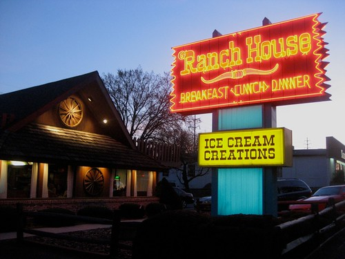 Ranch House Neon Sign