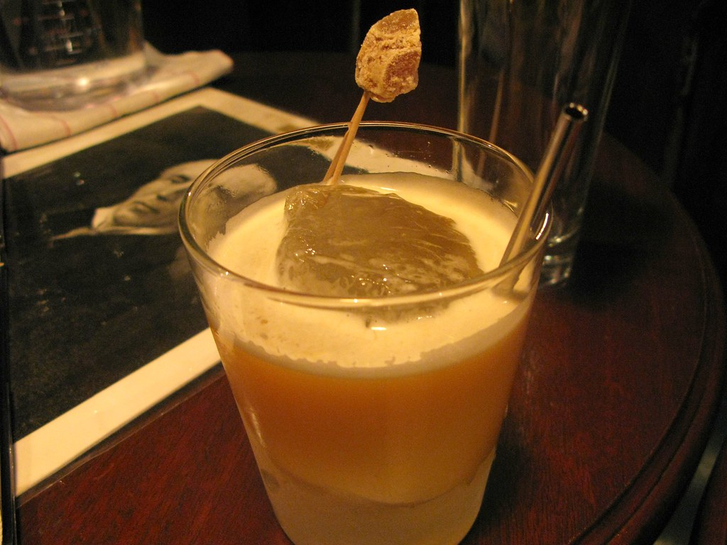 My first cocktail post Booze Fast: Penicillin
