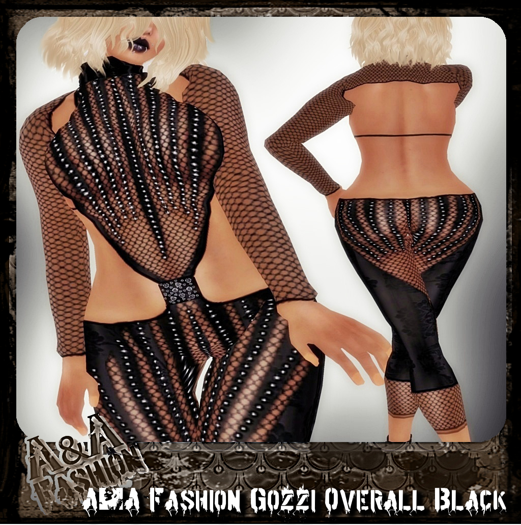 A&A Fashion Gozzi Overall black