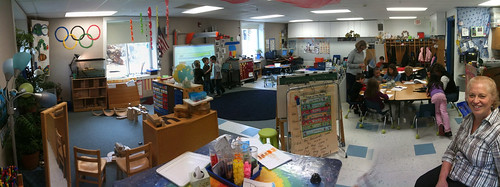 Kindergarten Center time (Maria Knee's classroom)