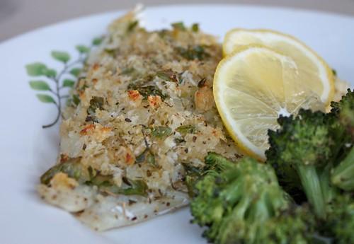 Fish Oreganata