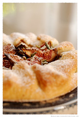 fresh fig and pistachio galette© by Haalo