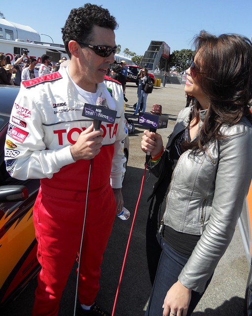 Adam Carolla,Toyota Grand Prix of Long Beach, Celeb Practice