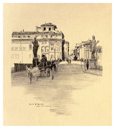 011-Puente Santa Trinidad-Florence  a sketch book (1914)- Richards Fred