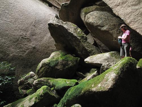 Helen in cave