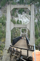 Doukhobor Suspension Bridge (arrowlakelass) Tags: bridge canada bc kootenays suspensionbridge brilliant castlegar doukhobor img4710 bridgerestoration doukhoborsuspensionbridge