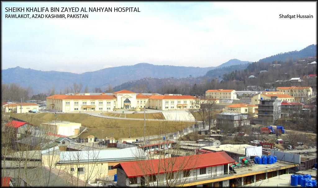 Sheikh Khalifa bin Zayed Hospital Rawalakot Azad kashmir (CMH)