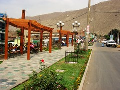 Remodelacion del  jirón Arequipa y LIbertad - Chosica Villa del Sol