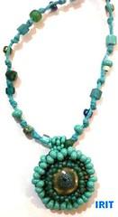 תליון מנדלה - בכירה (mandala jewelry) Tags: oneofakind jewelry mandala pendant תליון עבודתיד מנדלה