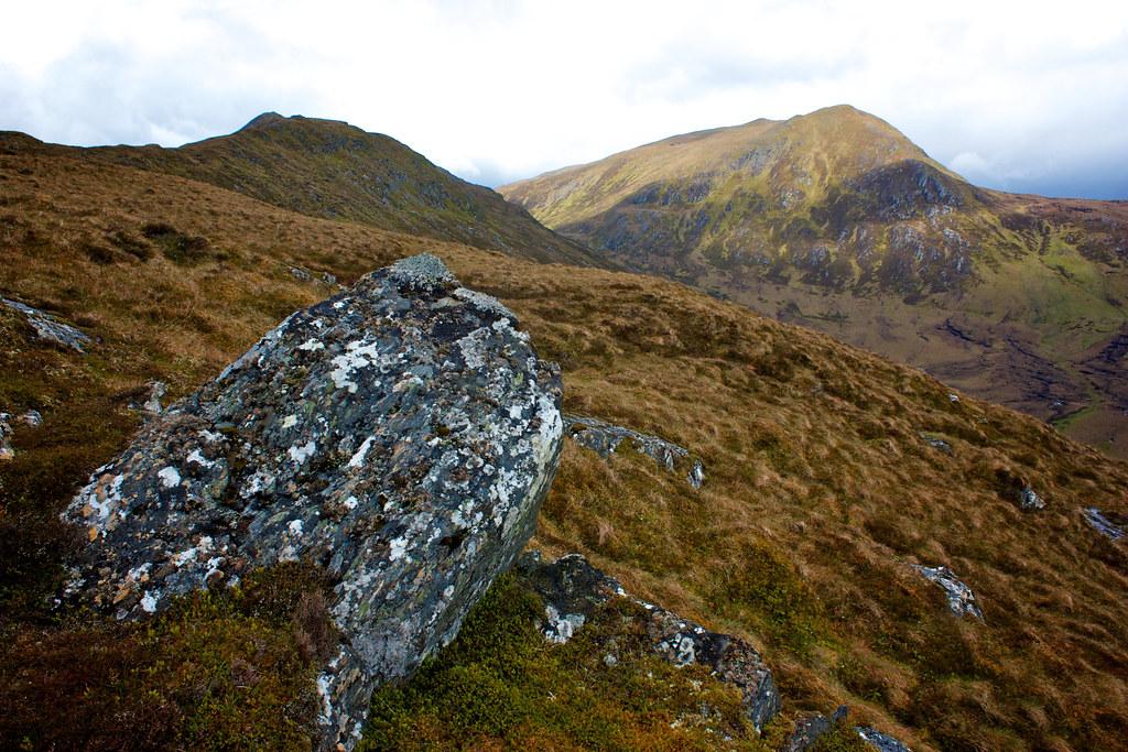 Sgurr a'Mhuilinn from the ascent of Creag Ruadh